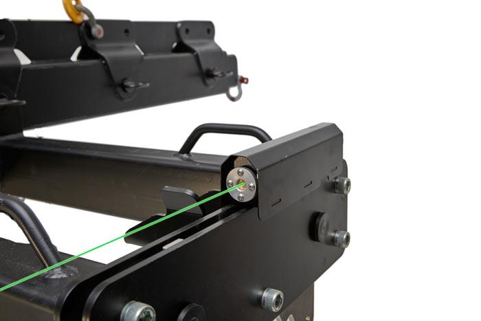 Laser-guide